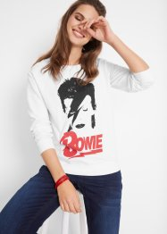 Sweat David Bowie, manches longues, John Baner JEANSWEAR