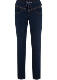 Jean confort-stretch taille à revers, CLASSIC FIT, John Baner JEANSWEAR