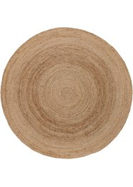 Tapis rond en matériau naturel, bpc living bonprix collection