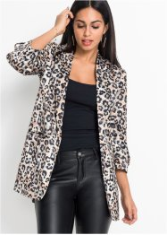 Blazer à imprimé animal, BODYFLIRT