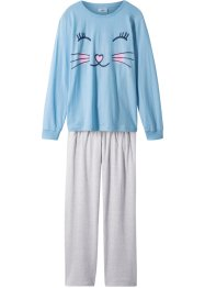 Pyjama (Ens. 2 pces.) en coton bio, bpc bonprix collection