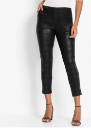 Pantalon extensible effet brillant, BODYFLIRT