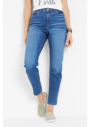 Jean boyfriend durable en polyester recyclé, bpc bonprix collection