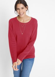 Pull durable en coton recyclé, bpc bonprix collection