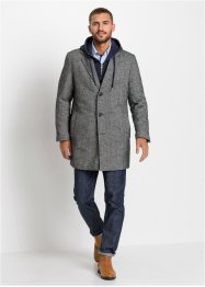 Manteau court avec col revers, RAINBOW
