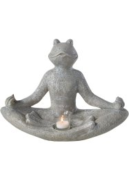 Bougeoir Grenouille yoga, bpc living bonprix collection