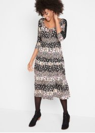 Robe midi, longueur sous genou, bpc bonprix collection