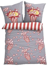 Parure de lit réversible motif popcorn, bpc living bonprix collection