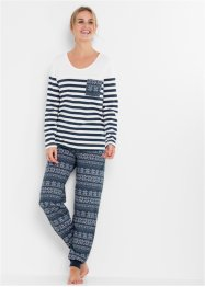 Pyjama en coton bio, bpc bonprix collection