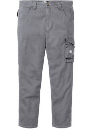 Pantalon cargo en twill Regular Fit, bpc bonprix collection