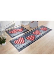 Tapis de protection imprimé cœurs, bpc living bonprix collection