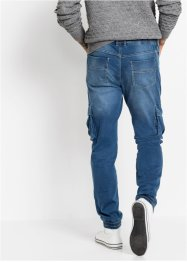 Jean thermo taille extensible super-stretch Slim Fit Straight, RAINBOW