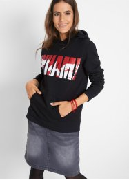 Sweat-shirt à capuche WHAM, manches longues, John Baner JEANSWEAR