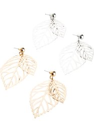 Boucles d'oreilles (Ens. 4 pces.), bpc bonprix collection