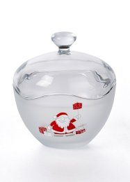 Flacon en verre Père Noël, bpc living bonprix collection