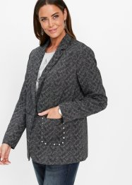 Blazer boyfriend à rivets, bpc selection