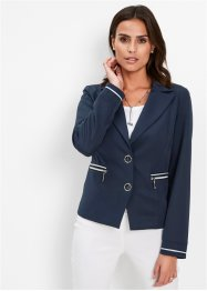 Blazer extensible col à revers, bpc selection