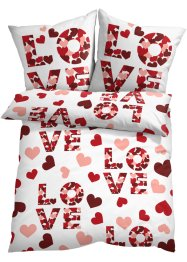Parure de lit inscription Love, bpc living bonprix collection