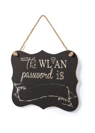 Pancarte WLAN-Password, bpc living bonprix collection