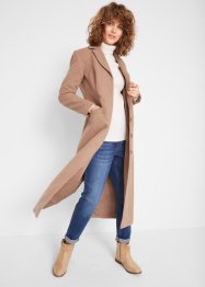 Manteau imitation laine longueur maxi, bpc bonprix collection