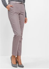 Pantalon extensible imprimé, bpc selection