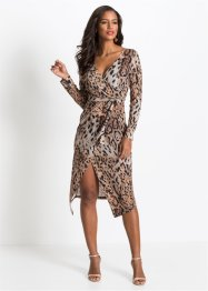 Robe midi léopard, BODYFLIRT boutique