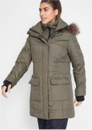 Veste longue outdoor style 2en1 matelassée, bpc bonprix collection