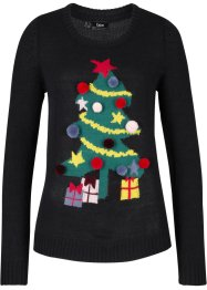 Pull de Noël Sapin, bpc bonprix collection
