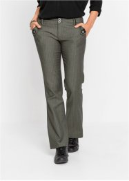 Pantalon business Bootcut à fines rayures, RAINBOW