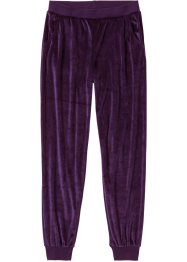 Pantalon de pyjama en velours ras, bpc bonprix collection