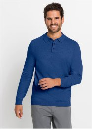 Pull col polo avec cachemire, bpc selection