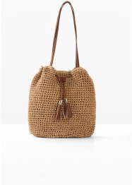 Sac bourse en paille, bpc bonprix collection