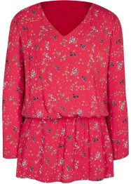 Tunique-blouse à imprimé floral, bpc bonprix collection