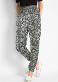 Pantalon sarouel froissé, bpc bonprix collection