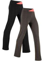 Lot de 2 pantalons de sport extensibles, niveau 1, bpc bonprix collection