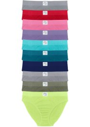 Lot de 10 slips, bpc bonprix collection