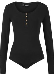 Body avec patte de boutonnage, bpc bonprix collection