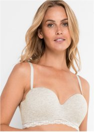 Soutien-gorge balconnet en coton bio, bpc bonprix collection