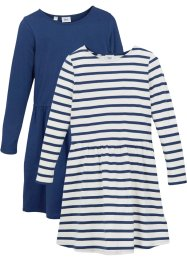 Lot de 2 robes en jersey, bpc bonprix collection