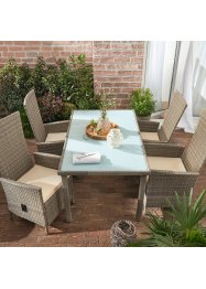 Salon de jardin (Ens. 5 pces.), bpc living bonprix collection