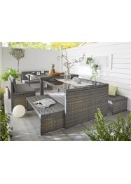 Salon de jardin (Ens. 6 pces.), bpc living bonprix collection