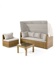 Salon de jardin (Ens. 3 pces.), bpc living bonprix collection