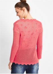 Gilet en maille manches 3/4, bpc bonprix collection