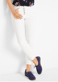 Pantalon 7/8 avec patte de boutonnage, bpc bonprix collection