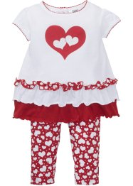 T-shirt bébé+ legging (Ens. 2 pces.) coton bio, bpc bonprix collection