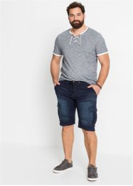 Bermuda en jean extensible Regular Fit, John Baner JEANSWEAR
