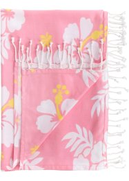 Drap hammam motif hibiscus, bpc living bonprix collection