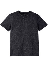 T-shirt col Henley à manches courtes, bpc bonprix collection