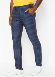 Pantalon en lin avec taille confortable Regular Fit, Straight, bpc selection