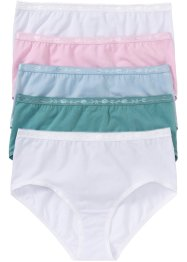 Lot de 5 maxi slips, bpc bonprix collection